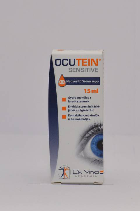Ocutein Sensitive Care nedvesítő szemcsepp 15 ml
