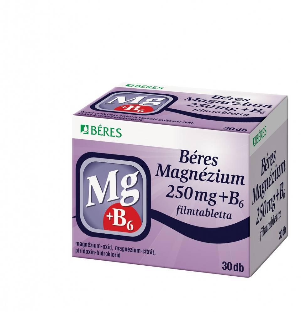 magas vérnyomás kezelése magnézium b6)